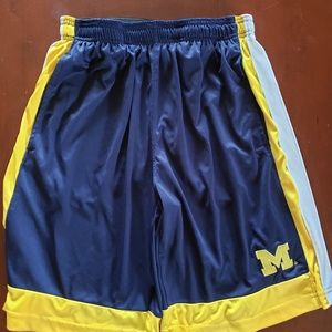 Michigan Wolverines Athletic Shorts M